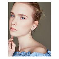 Női Beszúrós fülbevalók , Virágos Divat Ötvözet Virág Ékszerek Estély