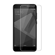 お買い得  スクリーンプロテクター-スクリーンプロテクター XIAOMI のために Xiaomi Redmi 4X 強化ガラス 1枚 スクリーンプロテクター 2.5Dラウンドカットエッジ 硬度9H ハイディフィニション(HD)