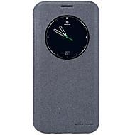 Кейс для Назначение SSamsung Galaxy S7 edge Бумажник для карт с окошком Флип Матовое Авто Режим сна / Пробуждение Чехол Сплошной цвет