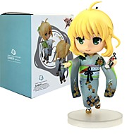 Anime Φιγούρες Εμπνευσμένη από Fate/stay night Saber 12 CM μοντέλο Παιχνίδια κούκλα παιχνιδιών