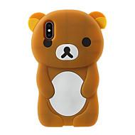 Недорогие Кейсы для iPhone 8 Plus-Кейс для Назначение Apple iPhone X iPhone 8 Plus С узором Кейс на заднюю панель Мультипликация Мягкий Силикон для iPhone X iPhone 8 Pluss