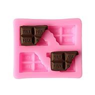 olcso Konyhai eszközök-süteményformákba Derékszögű Fagylalt Cookie Cake Csokoládé Ice Silica Gel Környezetbarát Hőálló Kreatív Sütés eszköz Újonnan érkező