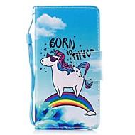 Недорогие Кейсы для iPhone 8-Кейс для Назначение Apple iPhone X iPhone 8 Plus Бумажник для карт Кошелек со стендом Флип Магнитный С узором Чехол Животное Твердый Кожа