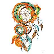tanie -Tymczasowe tatuaże na ramię klatki piersiowej zwierząt serii 3d wodoodporne tatuaże naklejki nietoksyczny brokat duży fałszywy tatuaż