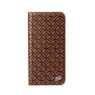 Недорогие Кейсы для iPhone-Кейс для Назначение Apple iPhone X iPhone X Кошелек со стендом Чехол Сплошной цвет Твердый Настоящая кожа для iPhone X