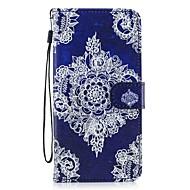 tanie Samsung: Nowości-Kılıf Na Samsung Galaxy S8 Plus S8 Portfel Etui na karty Z podpórką Flip Wzór Futerał Kwiaty Twarde Sztuczna skóra na S8 Plus S8