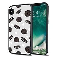 Недорогие Кейсы для iPhone 8-Кейс для Назначение Apple iPhone X iPhone 8 Plus С узором Кейс на заднюю панель Продукты питания Мягкий ТПУ для iPhone X iPhone 8 Pluss