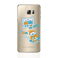 Недорогие Чехлы и кейсы для Galaxy S8 Plus-Кейс для Назначение SSamsung Galaxy S8 Plus S8 С узором Кейс на заднюю панель Кот Мягкий ТПУ для S8 Plus S8 S7 edge S7 S6 edge plus S6