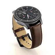 Недорогие Часы для Samsung-Ремешок для часов для Gear S3 Classic Samsung Galaxy Классическая застежка Натуральная кожа Повязка на запястье