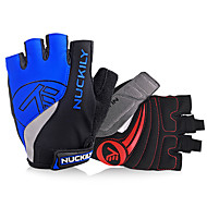 Nuckily Sports Gloves Bike Gloves / Cycling Gloves Reflective Wearable Breathable Wearproof Protective Anti-skidding Article Glances