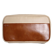 cheap Mac Cases & Mac Bags & Mac Sleeves-Storage Bags for Solid Colored PU Leather Power Supply / Flash Drive / Power Bank