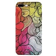 Недорогие Кейсы для iPhone 8 Plus-Кейс для Назначение Apple iPhone 6 iPhone 7 С узором Кейс на заднюю панель Полосы / волосы Твердый ПК для iPhone 8 Pluss iPhone 8 iPhone