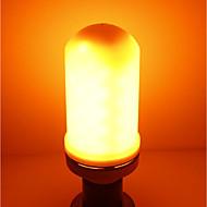お買い得  LED コーン型電球-SENCART 1個 5W 700lm E27 LEDコーン型電球 E27 / E14 96 LEDビーズ SMD LEDライト / 装飾用 / 炎効果 温白色 85-265V / CCC
