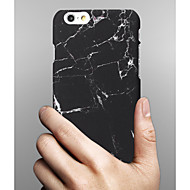 Недорогие Кейсы для iPhone 8 Plus-Кейс для Назначение Apple iPhone X iPhone 8 iPhone 6 iPhone 6 Plus Other Кейс на заднюю панель Мрамор Твердый ПК для iPhone X iPhone 8