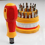 abordables Herramientas de Reparación y Piezas de Repuesto-Teléfono móvil Kit de herramientas de reparación 31 in 1 Extensión para destornillador Destornillador Herramientas de Recambio Teléfono