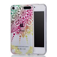 olcso iPod tokok-Case Kompatibilitás iTouch 5/6 Állvánnyal IMD Minta Héjtok Kemény