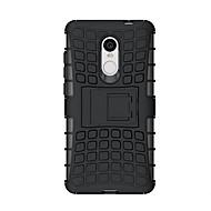 halpa Puhelimen kuoret-Etui Käyttötarkoitus Xiaomi Redmi Note 4 Iskunkestävä Tuella Takakuori Panssari Kova Silikoni varten Xiaomi Redmi Note 4