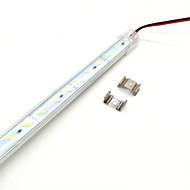50 centímetros SMD-8020 luz branca quente 650-725lm / branco frio LED luz de tira (12v)