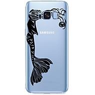 Недорогие Чехлы и кейсы для Galaxy S7 Edge-Кейс для Назначение SSamsung Galaxy S8 Plus S8 С узором Соблазнительная девушка Мультипликация Мягкий для