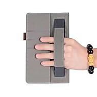 お買い得  タブレット用アクセサリー-huawei mediapad t3 7.0インチタブレットPC用ハンドホルダー付きソリッドパターンレザーケース