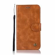 olcso Mobiltelefon tokok-Case Kompatibilitás Xiaomi Redmi Note 4X Redmi Note 4 Kártyatartó Pénztárca Állvánnyal Flip Minta Héjtok Álomfogó Bagoly Kemény PU bőr