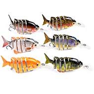お買い得  釣り用アクセサリー-1 個 ルアー パイク ミノウ Jerkbaits ハードベイト ABS 海釣り ベイトキャスティング 穴釣り スピニング ジギング 川釣り その他 流し釣り/船釣り 一般的な釣り ルアー釣り バス釣り 鯉釣り