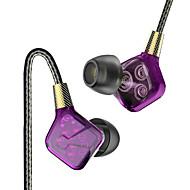 お買い得  -PHB EP016 耳の中 ケーブル ヘッドホン 動的 プラスチック プロオーディオ イヤホン ボリュームコントロール付き / マイク付き ヘッドセット