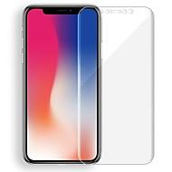 Недорогие Защитные плёнки для экрана iPhone-Защитная плёнка для экрана Apple для iPhone X TPG Hydrogel 2 штs Защитная пленка для экрана и задней панели Самозаживление Защита от
