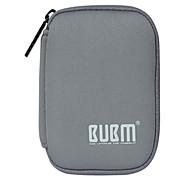 お買い得  MacBook 用ケース/バッグ/スリーブ-アクセサリー収納バッグ のために ソリッド ナイロン モバイルバッテリー
