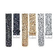 Недорогие Аксессуары для смарт-часов-Ремешок для часов для Fitbit Blaze Fitbit Современная застежка Натуральная кожа Повязка на запястье