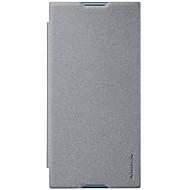 Недорогие Чехлы для телефонов-Кейс для Назначение Sony Xperia XZ1 Xperia X compact Бумажник для карт Флип Матовое Чехол Сплошной цвет Твердый Кожа PU для Xperia XZ1