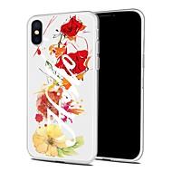 Недорогие Кейсы для iPhone 8 Plus-Кейс для Назначение Apple iPhone X iPhone 8 Plus С узором Задняя крышка Мультипликация Мягкий TPU для iPhone X iPhone 8 Pluss iPhone 8