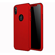 billige iPhone-etuier-Etui Til Apple iPhone X iPhone 8 Syrematteret Bagcover Helfarve Hårdt PC for iPhone X iPhone 8 Plus iPhone 8 iPhone 7 Plus iPhone 7