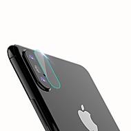 Недорогие Защитные плёнки для экрана iPhone-XIMALONG Защитная плёнка для экрана для Apple iPhone X Закаленное стекло 1 ед. Защитная пленка для задней панели HD / Защита от царапин