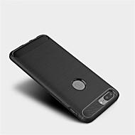お買い得  携帯電話ケース-ケース 用途 OnePlus OnePlus 5T 5 つや消し バックカバー 純色 ソフト TPU のために One Plus 5 OnePlus 5T One Plus 3T