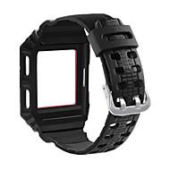 Недорогие Аксессуары для смарт часов-Ремешок для часов для Fitbit ionic Fitbit Повязка на запястье Современная застежка силиконовый