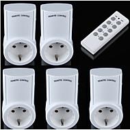 الذكية التحكم عن مقبس الطاقة أوك القياسية رف البعيد تحكم ل المنزل الذكي لاسلكي مقبس بعيد مأخذ التوصيل 1 إلى 5