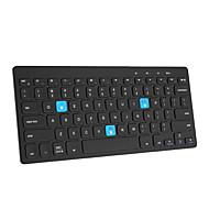 abordables Teclados para iPad-Bluetooth teclado mecánico Slim Plegable por Bluetooth