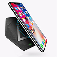 abordables Los Más Vendidos-Cargador usb USB Cargador Wireless No soportado 1 A / 1.5 A DC 9V / DC 5V para iPhone X / iPhone 8 Plus / iPhone 8