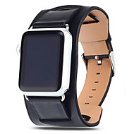 voordelige -Horlogeband voor Apple Watch Series 4/3/2/1 Apple Moderne gesp Echt leer Polsband