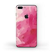 Недорогие Защитные плёнки для экрана iPhone-1 ед. Наклейки для Защита от царапин Масляный рисунок Узор PVC iPhone 8 Plus