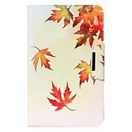 Недорогие Чехлы и кейсы для Galaxy Tab 4 7.0-Кейс для Назначение Samsung Tab 4 7.0 Tab E 9.6 Tab E 8.0 Tab A 9.7 Tab A 10.1 (2016) Бумажник для карт Кошелек со стендом С узором Авто