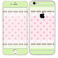 Недорогие Защитные плёнки для экрана iPhone-1 ед. Наклейки для Защита от царапин Плитка Узор PVC iPhone 6s/6