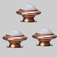 お買い得  LED アイデアライト-3本 LEDナイトライト White 内蔵リチウム電池駆動 充電式 USBポート付き