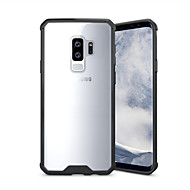 cheap Samsung Accessories-Case For Samsung Galaxy S9 S9 Plus Shockproof Transparent Back Cover Solid Color Armor Hard Acrylic for S9 Plus S9 S8 Plus S8 S7 edge S7