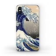 Недорогие Защитные плёнки для экрана iPhone-1 ед. Наклейки для Защита от царапин Пейзаж Узор PVC