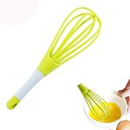 お買い得  キッチン用小物-1個 キッチンツール プラスチック クリエイティブキッチンガジェット 泡立て器 卵のための