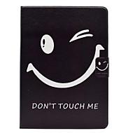 Недорогие Чехлы и кейсы для Samsung Tab-Кейс для Назначение SSamsung Galaxy Tab S3 9.7 Бумажник для карт со стендом Флип С узором Авто Режим сна / Пробуждение Чехол Слова /