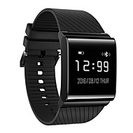 cheap Smart Activity Trackers, Clips & Wristbands-X9 PLUS Smart Watch iOS Android Heart Rate Monitor IP67 Waterproof Pedometers Sleep Tracker Blood Pressure Measurement Anti-lost Call