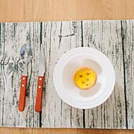 abordables Salvamanteles-Ordinario Lino/Algodón Cuadrado Juego de Mesa Decoraciones de mesa